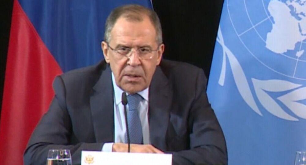 Lavrov comenta acordo sobre cessar-fogo na Síria