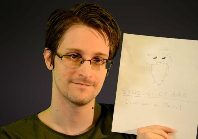 Edward Snowden, ex-agente da Agência de Segurança Nacional (NSA)