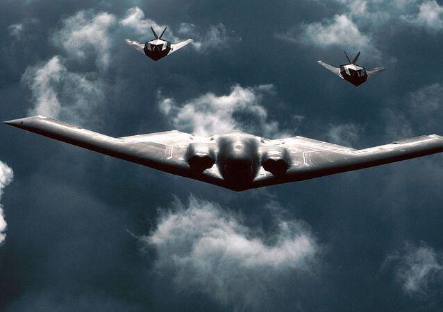Avião militar norte-americano B-2 Spirit