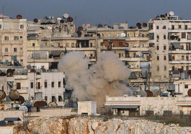 Bairro de Aleppo, Síria