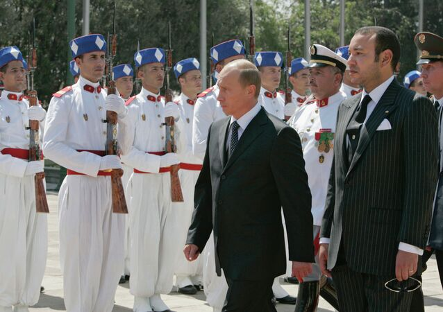 Visita do presidente russo Vladimir Putin ao Marrocos (maio de 2015)