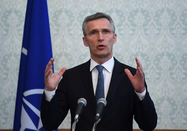 Secretário-Geral da OTAN Jens Stoltenberg
