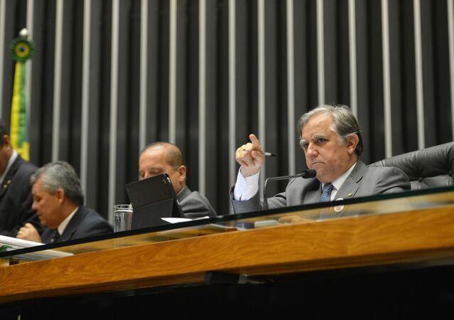 Primeira sessão plenária da Câmara que analisará o pedido de impeachment da presidente Dilma