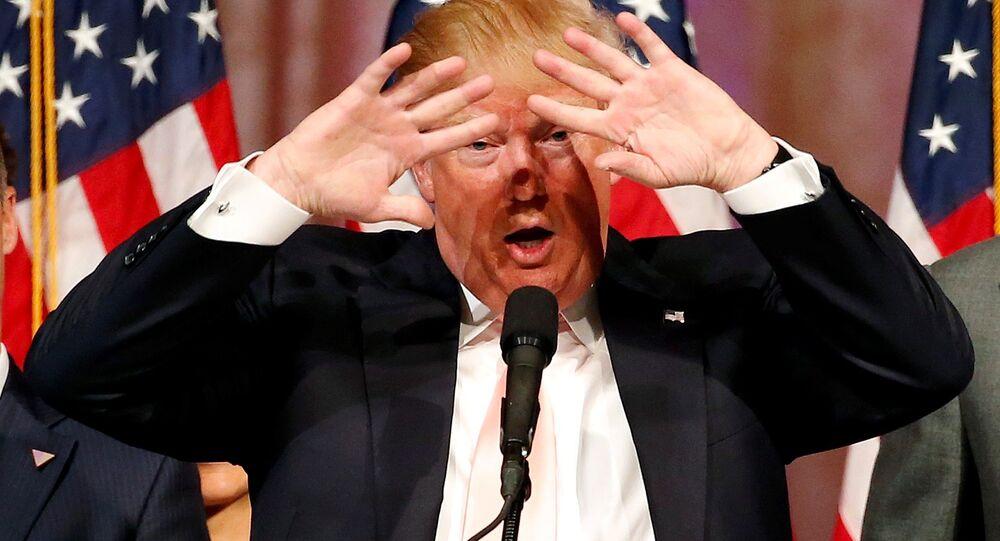 Donald Trump, candidato republicado à presidência dos Estados Unidos