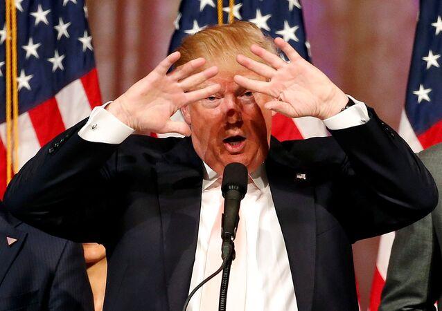 Donald Trump, candidato republicano à presidência dos Estados Unidos