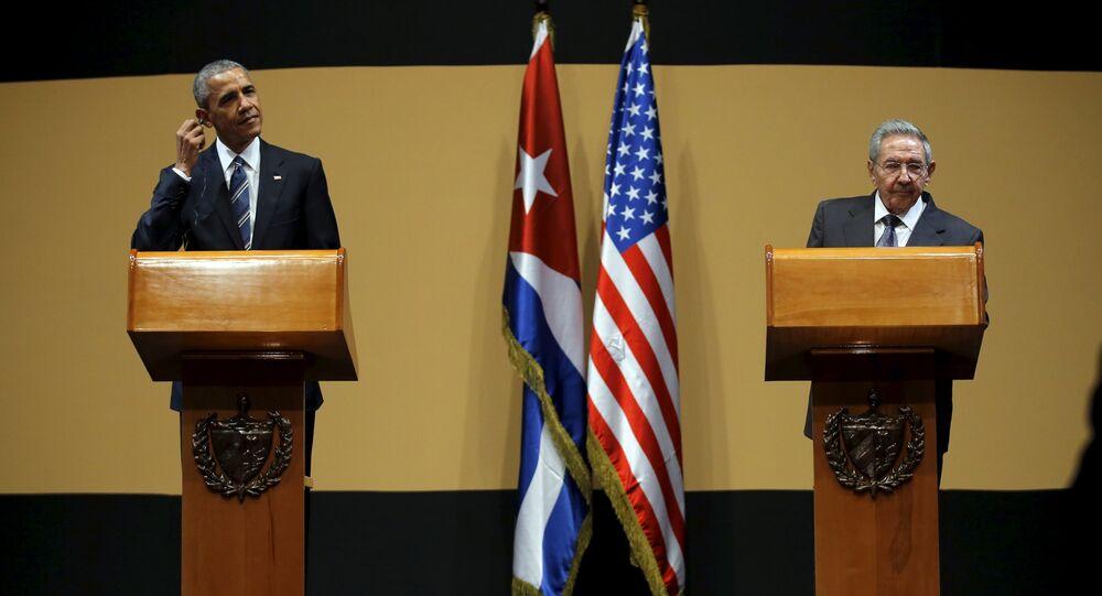 Visita do presidente dos EUA, Barack Obama, à Cuba.