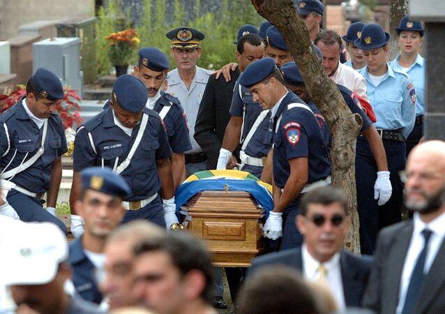 Funeral do prefeito de Santo André Celso Daniel, 21 de janeiro de 2002