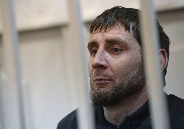 Zaur Dadaev, um dos suspeitos do assassinato de Boris Nemtsov