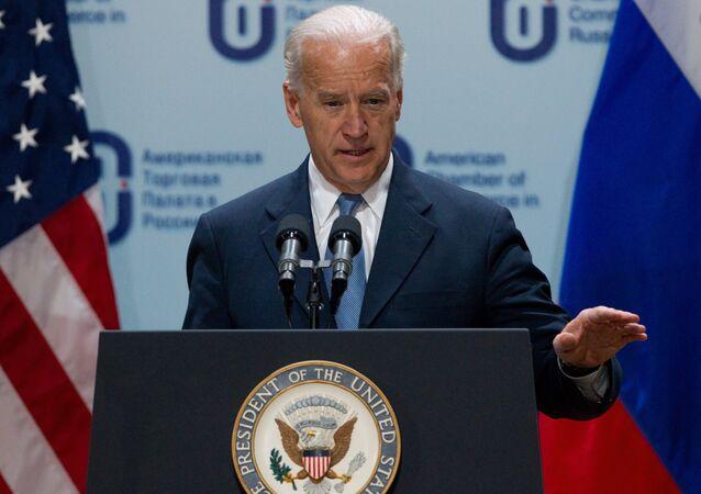 O vice-presidente dos EUA Joe Biden