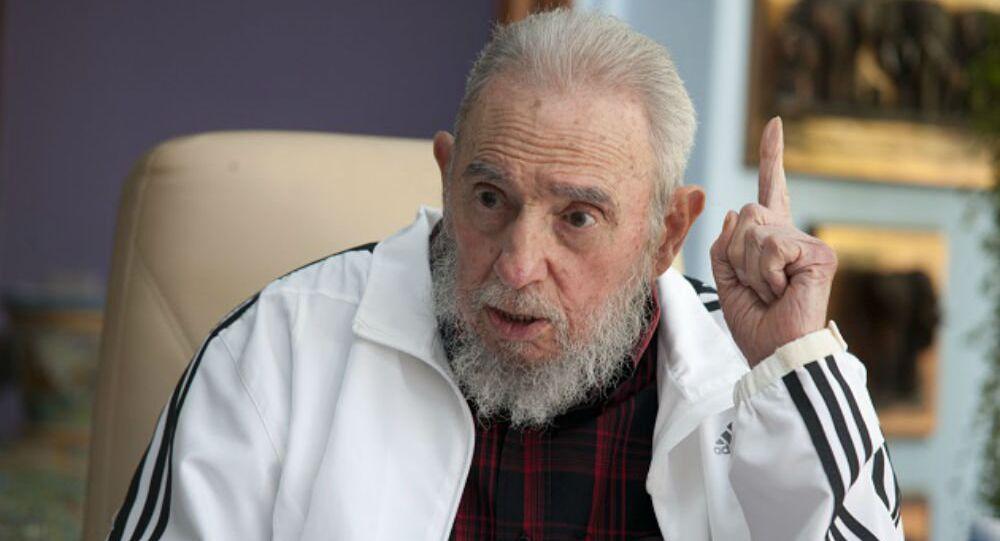 Fidel Castro.