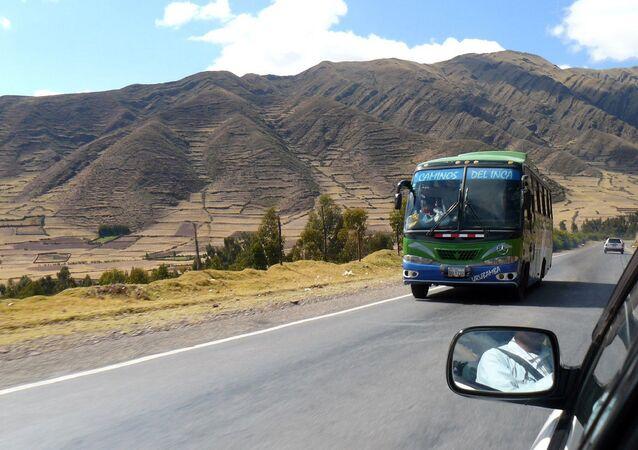 Estrada em Cusco