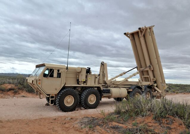 Sistema de defesa antimíssil THAAD