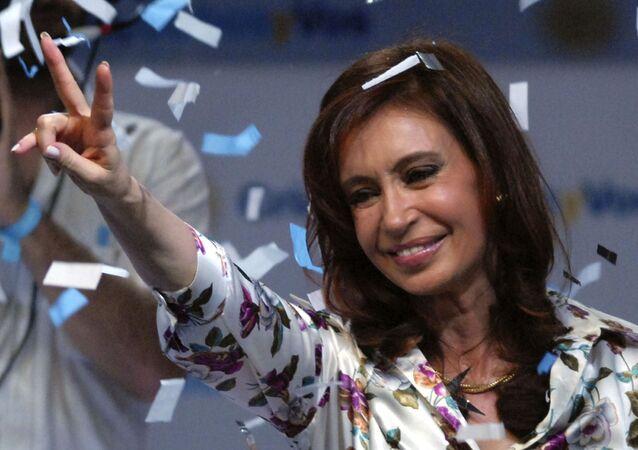 Ex-presidente da Argentina Cristina Kirchner