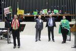 Sessão especial para discussão e votação do parecer do dep. Jovair Arantes (PTB-GO) sobre a abertura do processo de impeachment da presidenta da República, Dilma Rousseff