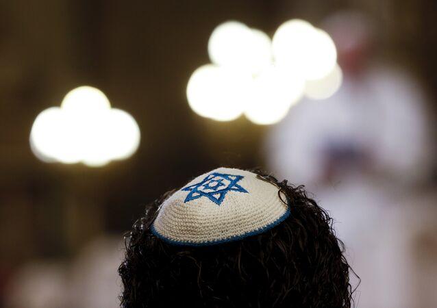 Membro da comunidade judaica.