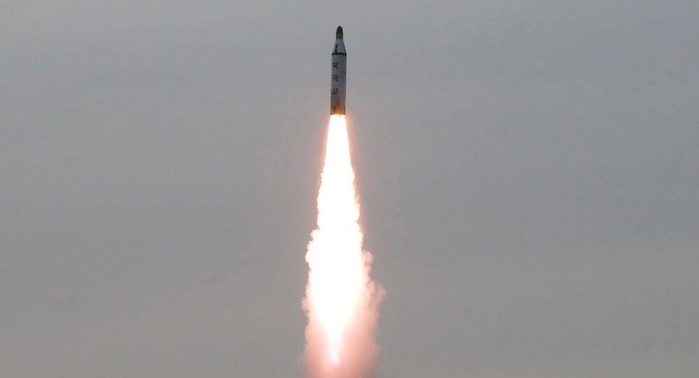 Míssil balístico da Coreia do Norte