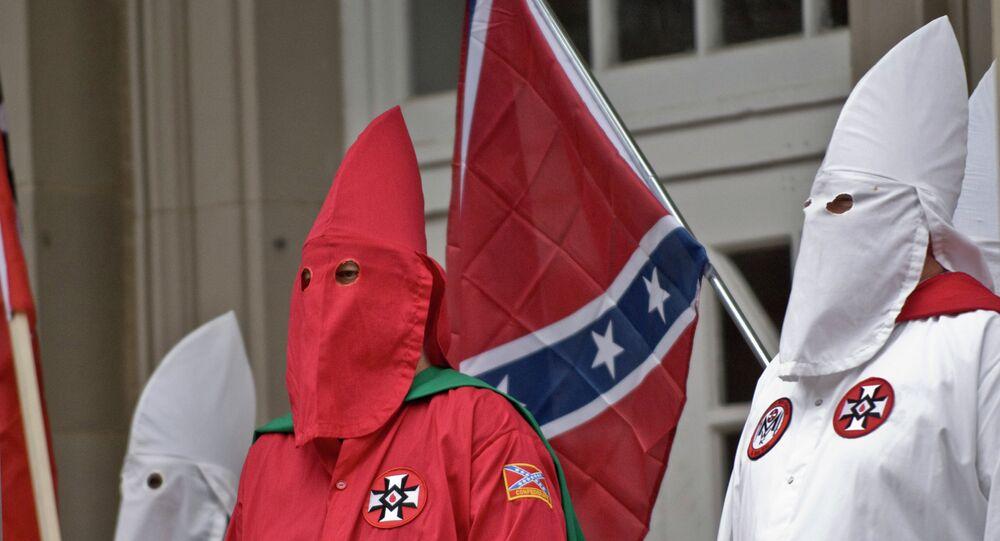 Membros do KKK na Carolina do Sul