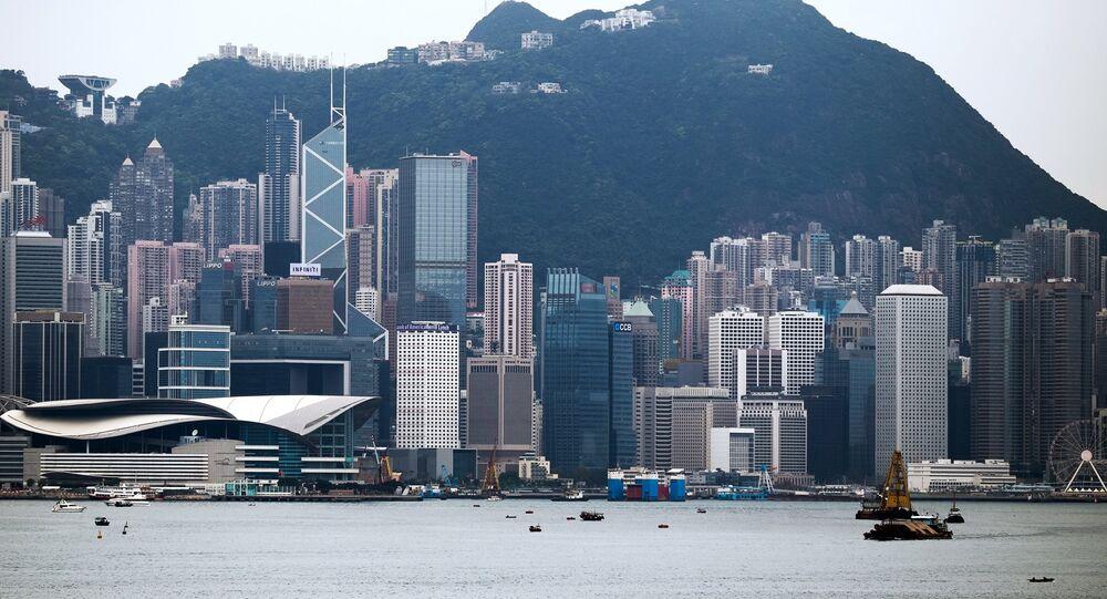 uma imagem de Hong Kong
