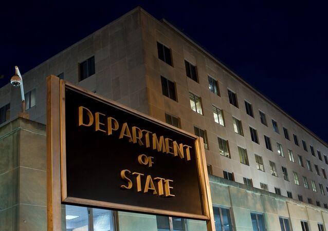 Departamento de Estado dos EUA.