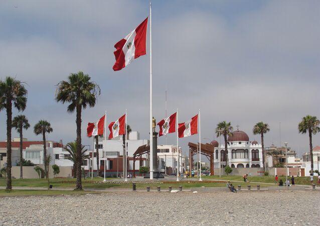 Bandeiras, Peru