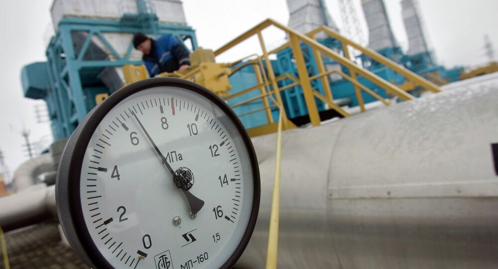 Estação de compressão de gás