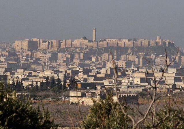 Aleppo, na Síria