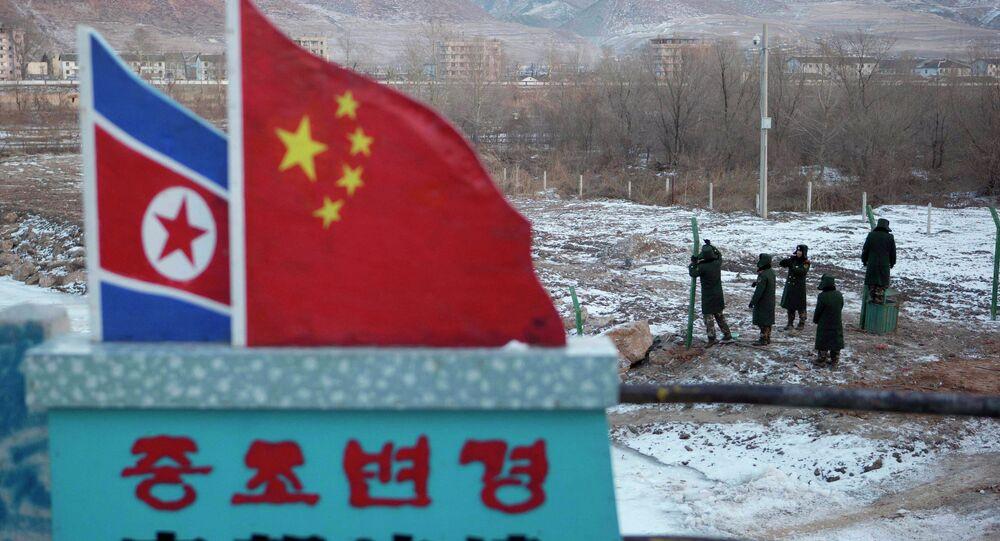 Fronteira da China com a Coreia do Norte