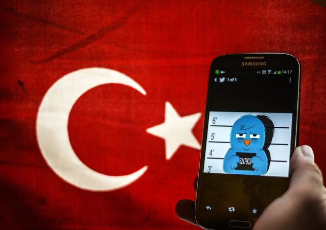 Em 2014 governo turco baniu o uso nacional do Twitter