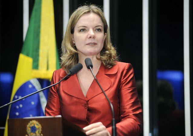 Senadora Gleisi Hoffmann