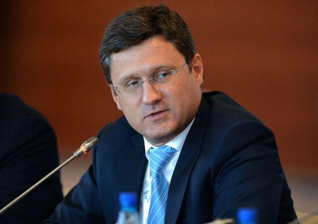 Ministro da Energia da Rússia, Alexander Novak