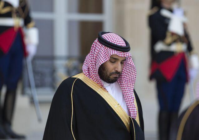 Ministro da Defesa da Arábia Saudita, Mohammed bin Salman bin Abdul Aziz al-Saud