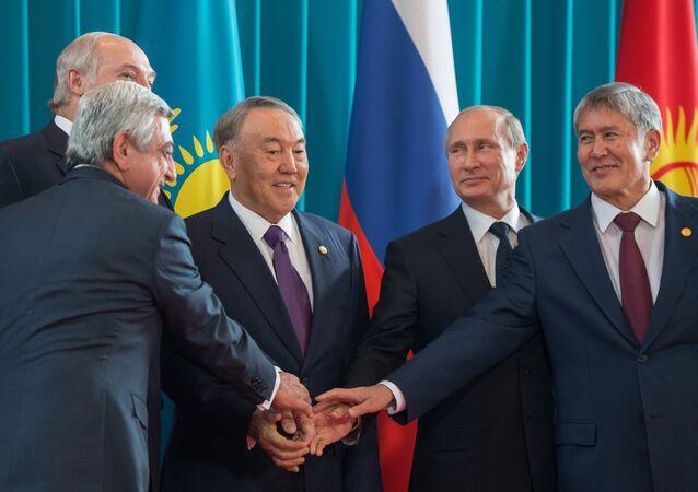 Reunião do Conselho Econômico Supremo da União Euroasiática (foto de arquivo)