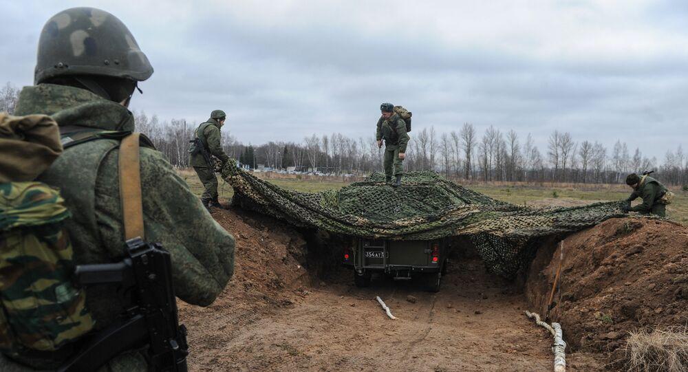 Equipamento da guerra eletrônica utilizado pelo exêrcito russo