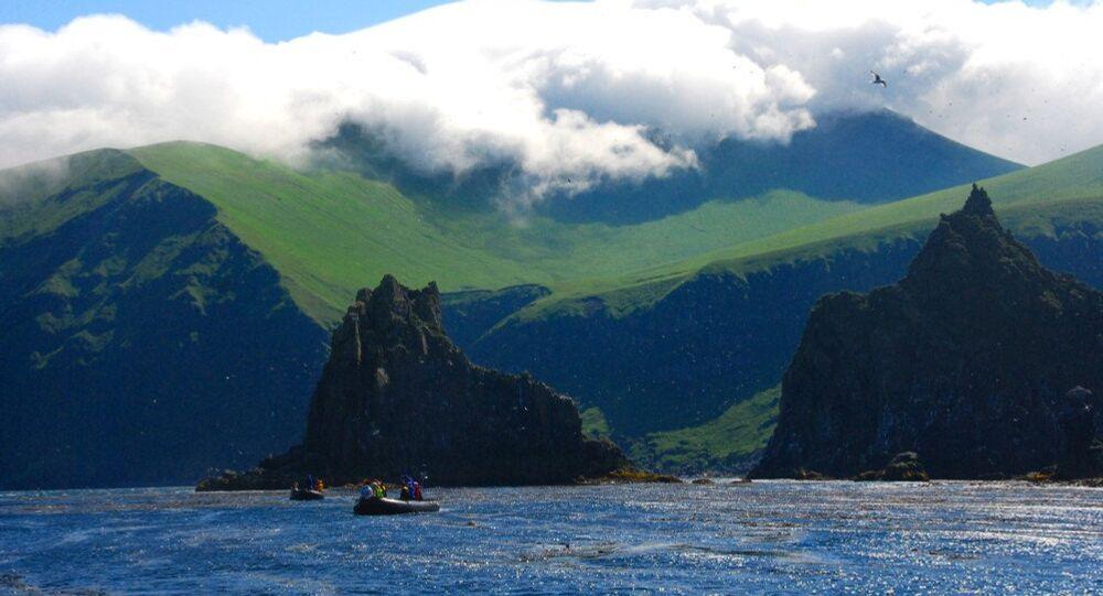 As ilhas Curilas