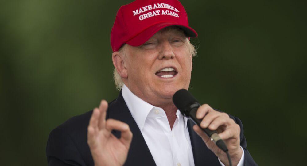 O candidato à presidência dos EUA pelo Partido Republicano, o bilionário Donald Trump