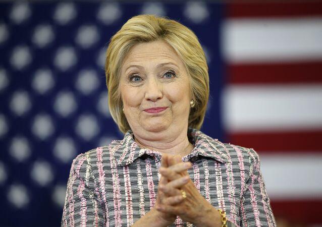 Presidenciavel democrata Hillary Clinton