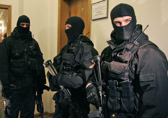 O Serviço de Segurança da Ucrânia (SBU, na sigla ucraniana)