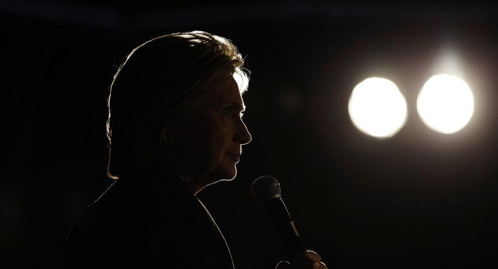 Presidenciável democrata Hillary Clinton
