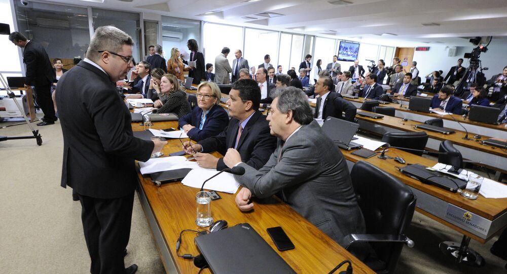 Reunião da Comissão Especial do Impeachment no Senado