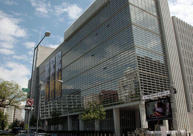 A sede do Banco Mundial em Washington