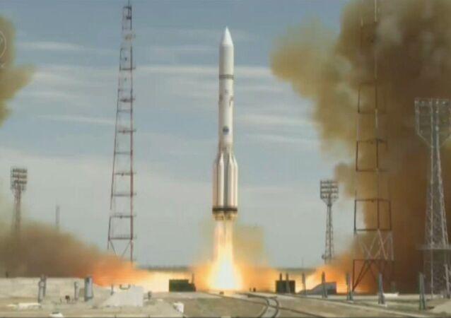 Foguete russo levou satélite americano à órbita