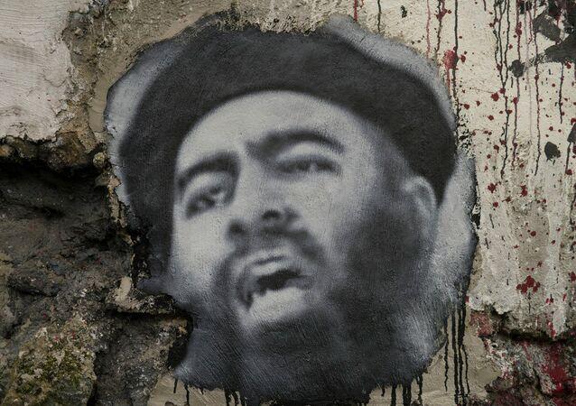 O retrato de Abu Bakr al Baghdadi