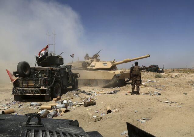 As forças militares do Iraque preperam a missão de reconquista da cidade de Fallujah