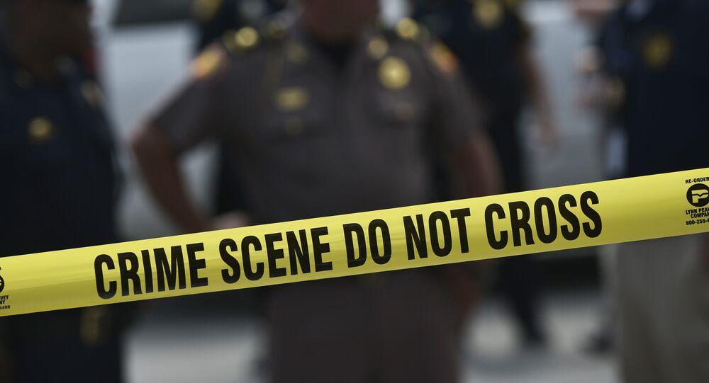 Polícia norte-americana em cena de crime, em Orlando, Flórida, em 12 de junho de 2016 (imagem referencial)