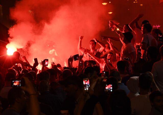 Hooligans em Marseille