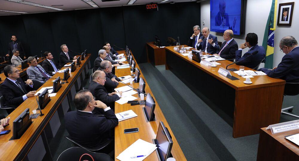 Audiência pública para debate do Projeto de Lei nº 4567, de 2016, de autoria do Senador licenciado José Serra.