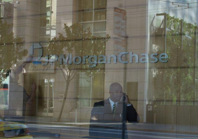 Agência do banco JPMorgan em São Francisco
