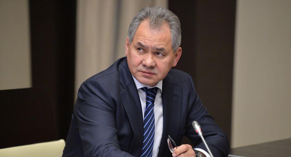Sergei Shoigu, ministro da Defesa da Rússia