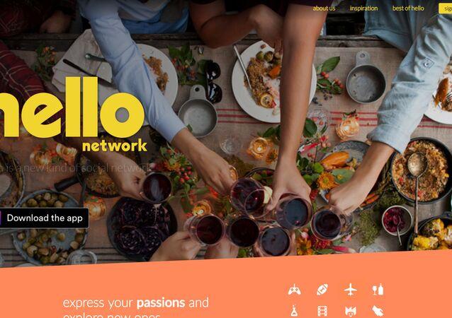 Hello - nova rede social