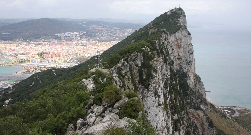 Rochedo de Gibraltar (foto do arquivo).